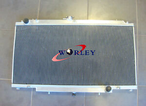 3-ROW-52MM-Aluminum-Radiator-for-Nissan-GU-PATROL-Y61-PETROL-4-5L-Manual