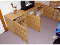 Habitat Side Board, wood, VGC. Living Room or Dining Room Furniture