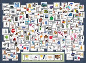 160+ Cards / Boardmaker Pack - Home / Clothes - Now / Next - SEN / PECS / Autism