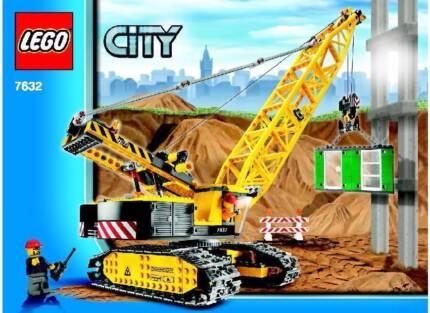 Lego City Crane Crawler 7632 *RETIRED* (VERY GOOD CONDITION)