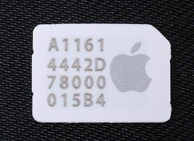 Apple iPad Pro AIR 2 Mini 3 4 Cellular SIM Card FREE SHIP AT&T T-Mobile Gigsky