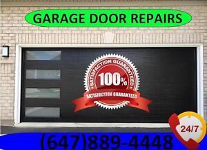 24/7  Garage Door Repair and Services - FREE ESTIMATES - Call Now: 647.889.4448