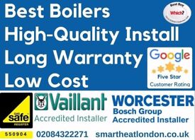 £1099 Supply&Fit with 5-YEAR WARRANTY / Boiler Installation/Repair/Replacement/New Boiler/GAS SAFE