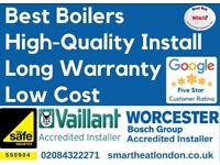 FREE Extended Warranty Vaillant & Worcester / Boiler Installation,Repair&Service/Gas certificate