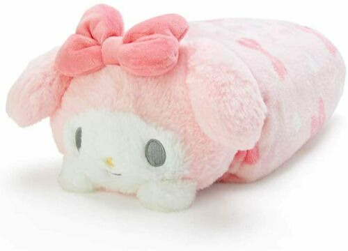 My Melody Pink Plush Cushion Blanket Kawaii Sanrio Japan NEW