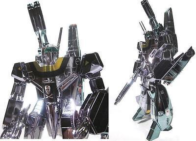 Macross Robotech 1/100 Chrome Metallic VF-1S Roy Focker Super Armor Valkyrie Kit