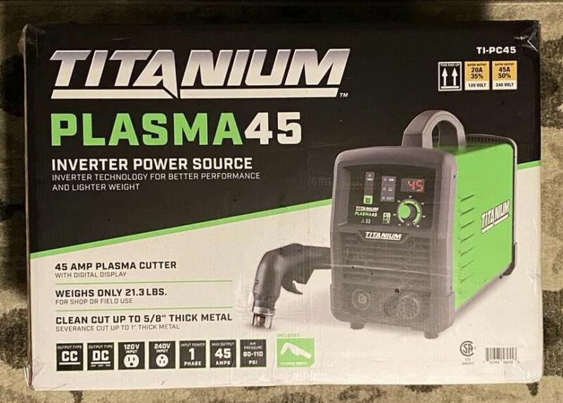 New! Titanium Plasma 45 Plasma Cutter 💥