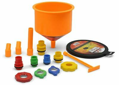 Funnel Kit - Spill-Proof Radiator Coolant Funnel Kit Filling Car Tool Fluid Fill EPAuto New