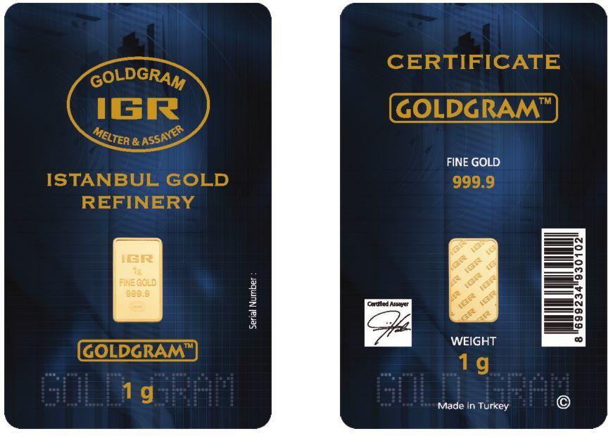 Купить Lot of 2 - 1 Gram IGR Mint 999.9 Gold Bar Sealed with Assay Certificate 24 Karat