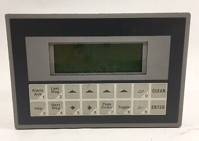 Maple Systems Backlit Lcd Oit3175-a00 Alphanumeric Oit Great Condition