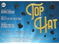 Top Hat the Musical! Jan 1st - Feb 3rd Fulham/West Brompton