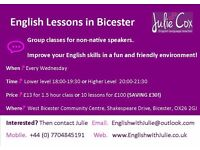 ENGLISH LESSONS in BICESTER