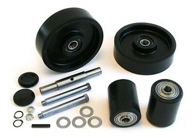 Lift-rite Titan Pallet Jack Complete Wheel Kit Includes All Parts Shown