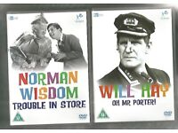 TWO UNPLAYED BRITISH COMEDY DVDs
