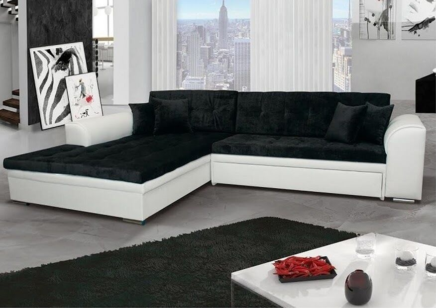 ecksofa sorrento couch mit schlaffunktion schlafbett wohnlandschaft big xxl 1203 eur 599 00. Black Bedroom Furniture Sets. Home Design Ideas