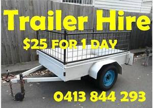 TRAILER HIRE - ONLY $25 for 1 DAY Tempe Marrickville Area Preview
