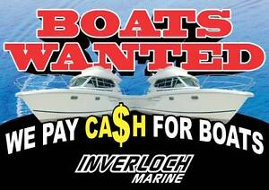 Boats wanted - Cash paid Inverloch Bass Coast Preview