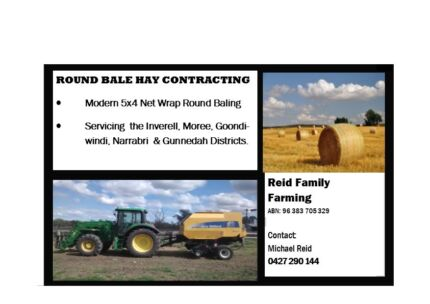 Round Baling Contracting