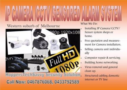 CCTV/IP camera Supply, Install and Support