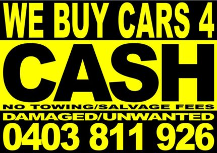 MORE CASH 4 DAMAGED/UNWANTED CARS,UTES,VANS,JETSKIES,4WDS Bondi Beach Eastern Suburbs Preview