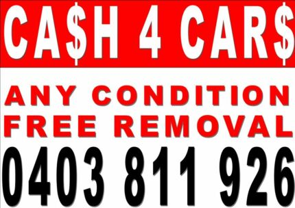 TOP CASH FOR DAMAGED/UNWANTED CARS,4WDS,UTES,VANS,JETSKIES  Bondi Beach Eastern Suburbs Preview