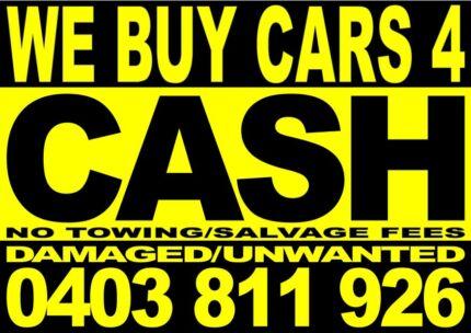 MORE CASH 4 DAMAGED/UNWANTED CARS,UTES,VANS,JETSKIES,4WDS Bondi Beach Eastern Suburbs Preview