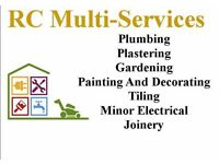 Rc multi-services Plumbing,Plastering,Tiling,Joinery, property maintenance
