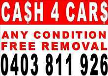 TOP CASH PAID FOR YOUR DAMAGED/UNWANTED CAR,4WD,UTE,VAN,TRUCK Bondi Beach Eastern Suburbs Preview