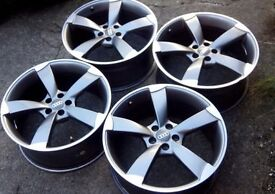 Audi Rotor alloys 18 inch brand new cond