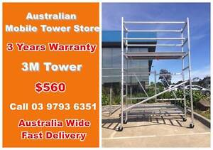 3M Mobile Tower On Sale NOW Maidstone Maribyrnong Area Preview