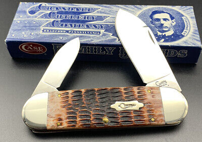 CASE XX 6250 SS KNIFE CRANDALL ELEPHANT TOE-NAIL SUNFISH 2009 MINT