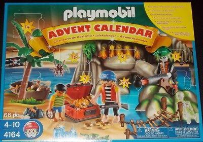 Playmobil #4164 Pirate Treasure Advent Calendar NIB NEW