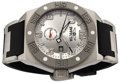 CLEARANCE INVICTA TITANIUM SWISS 49 MM  MILITARY STYLE  I FORCE BLACK POLY BAND