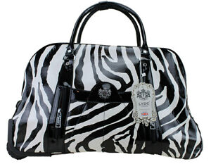 LYDC Holdall Trolley Bag - Weekend Bag - Hand Luggage Travel Handbag
