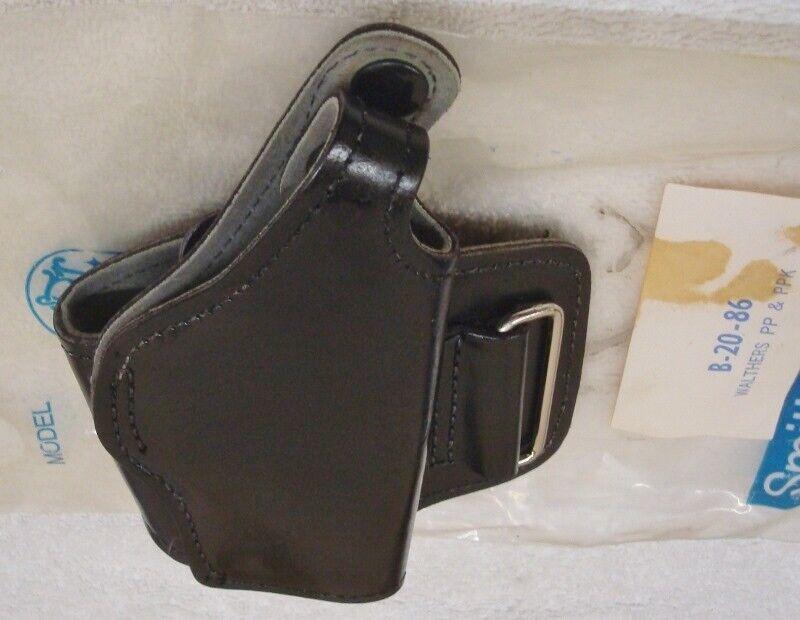 Smith & Wesson  Original Vintage RH Ankle Black Holster  PPK