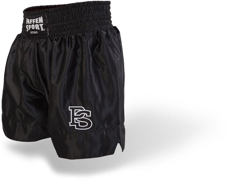Everlast Muay Thai Short Traditionell schwarz Twins Booster Shorts