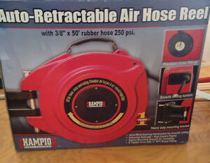 Champion Auto-Retractable Air Hose and Reel