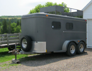 GREAT TRAILER-Designed for Mini horses but great for contractors