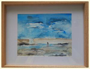 Original framed watercolor paintings
