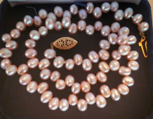 Freshwater Pearl and/or Garnet Jewellery