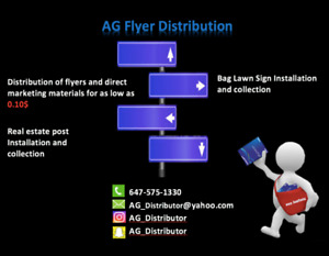 Flyer Distribution for 0.10 cents only!