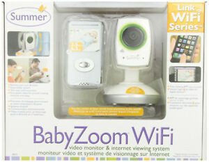 ''Summer Infant''  BABY ZOOM  WIFI  MONITOR - NEW IN BOX