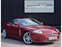 Jaguar XK XKR 4.2 V8 Supercharged * Radiance Red + Caramel + High Spec*