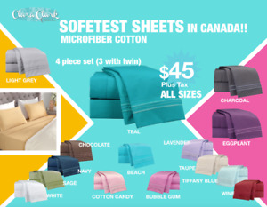 SOFTEST SHEETS IN CANADA!!