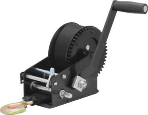 2,000 lb 2-Speed Reversible Hand Winch
