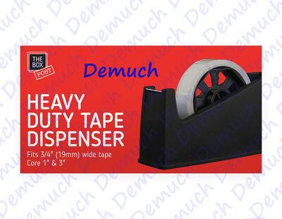 New Heavy Duty Tape Dispenser Desktop Office Sellotape Cellotape Pack Holder UK✔