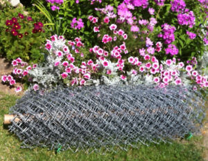 Roll of Chain Link Fencing 25 ft x 4 ft