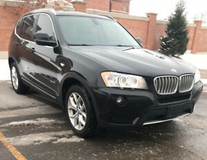 2013 BMW X3 28i xdrive ontario car one owner accident free!