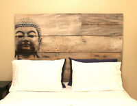 Reclaimed Barn Wood Headboards & Bed Frames,   www.soulboards.ca
