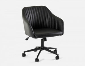 Structube Black Office Chair